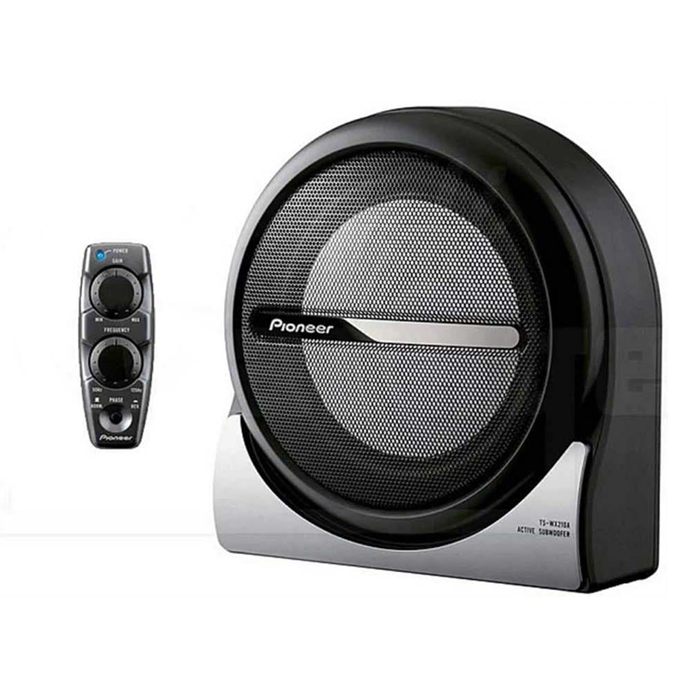 pioneer powered under seat sub woofer ts wx210a bass n. Black Bedroom Furniture Sets. Home Design Ideas