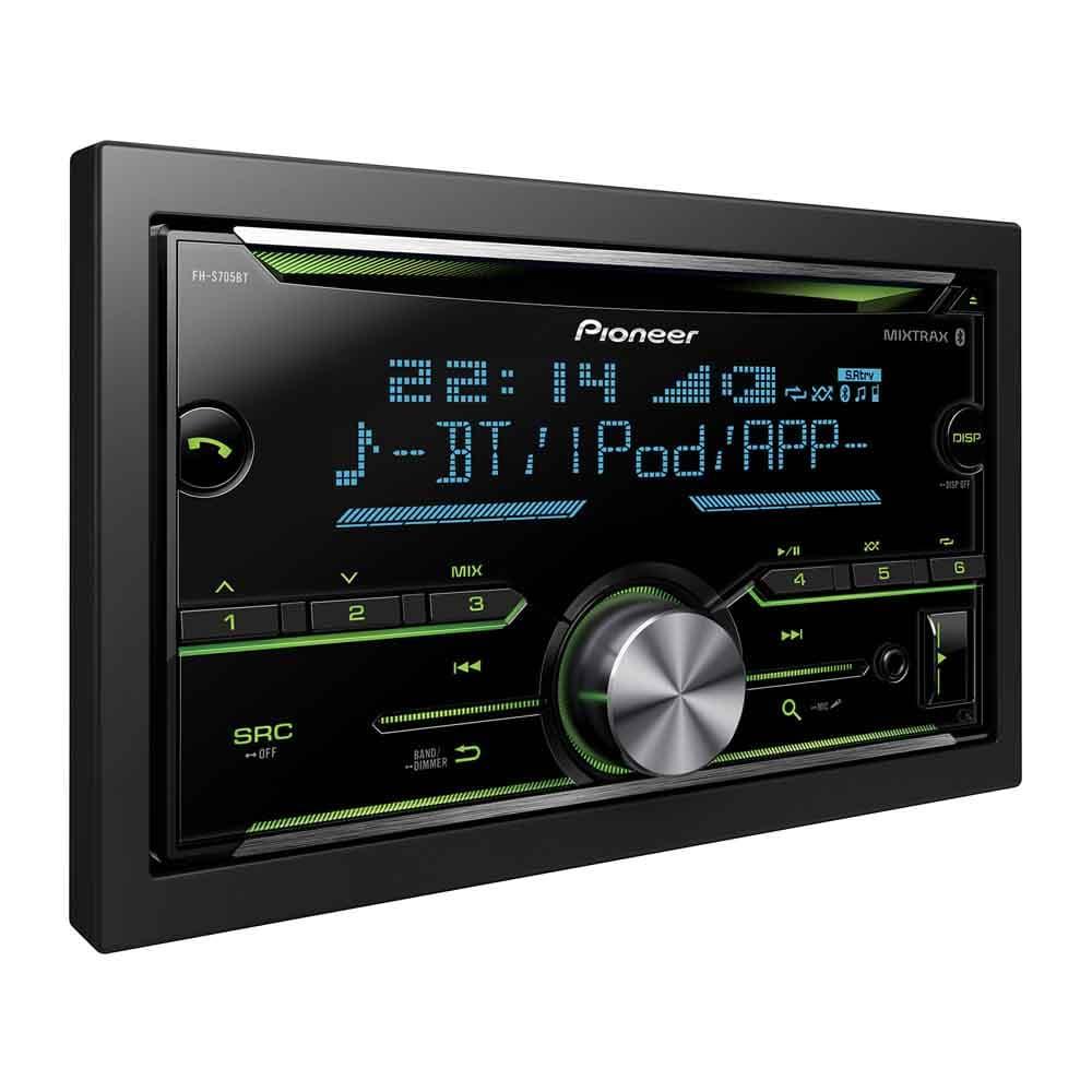 Pioneer Fh S705bt Bluetooth Car Audio System Bass N Treble